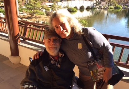 With Sheila Pinkel