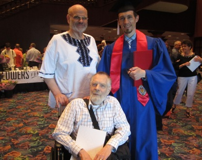 Adam graduates from DePaul 2015