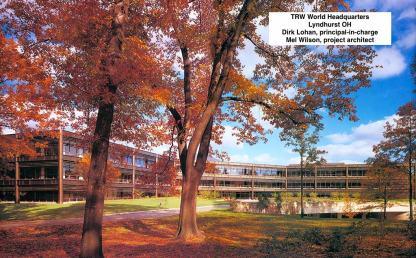 TRW Headquarter, Mel Wilson, project architect