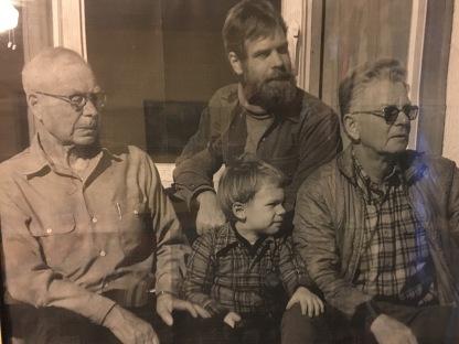 4 generations of Wilsons