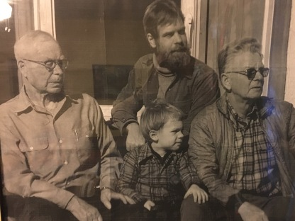 4 generations of Wilsons