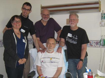 Renee, Adam, Nathan, Mel and brother Darrell
