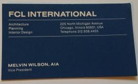 Mel's business card