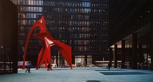 federal center and calder statue