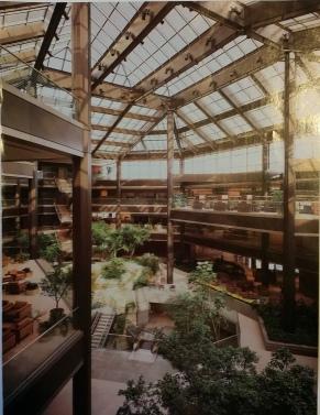 TRW Arch Record Atrium photo