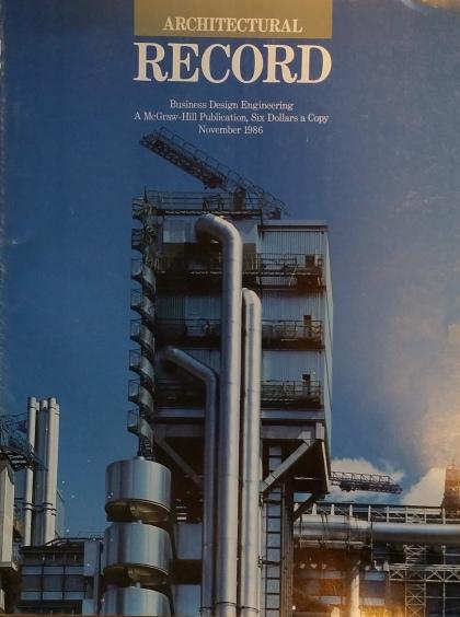 TRW Arch Record cover nov 1986
