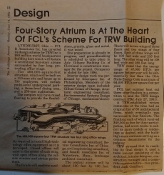 TRW Atrium article The Buildings Journal