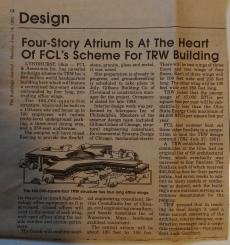 TRW Atrium article The Buildings Journal